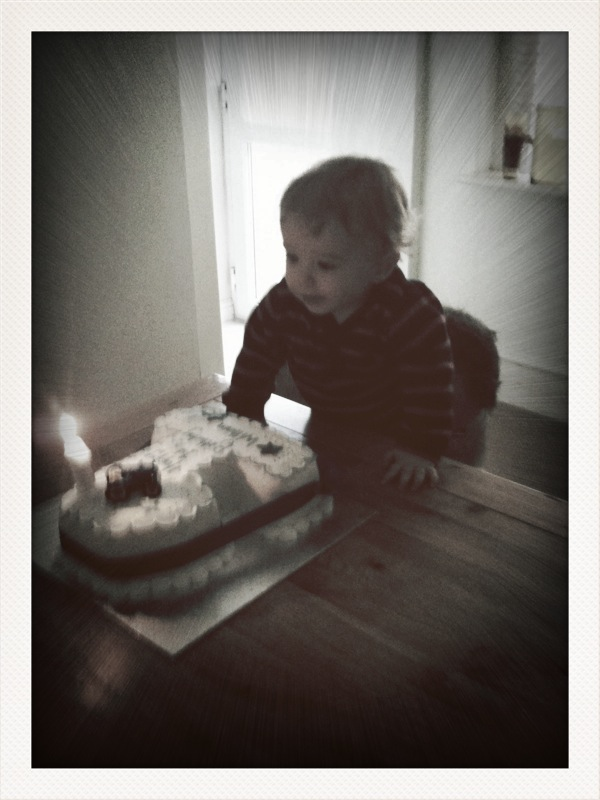 Day Zero Project: 24. Write W a letter on 1st birthday to open on 21st birthday.  Tick!