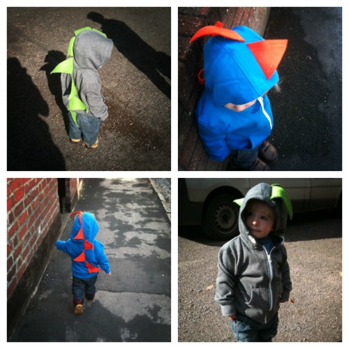 PicMonkey Collage2 How to make a dinosaur hoodie in just three easy steps