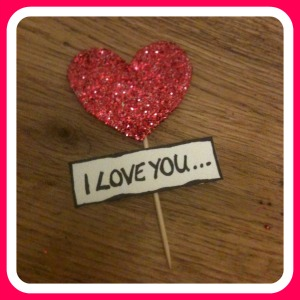 iloveyou Simple Childrens Valentines Craft