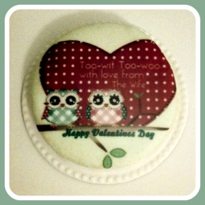 owl valentines cake Treat Your Valentine with Baker