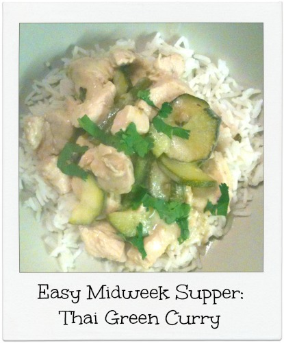 Thai Green Chicken Curry Quick and Simple Thai Green Chicken Curry