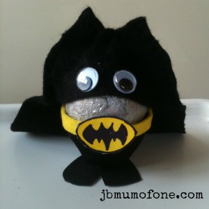 bat egg man Easter Craft:Sp EGG tacular Superheroes!