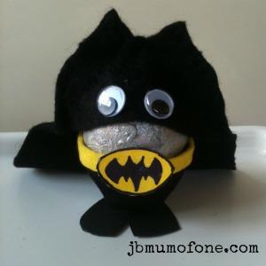bat egg man Easter Craft:Sp EGG tacular Superheroes!