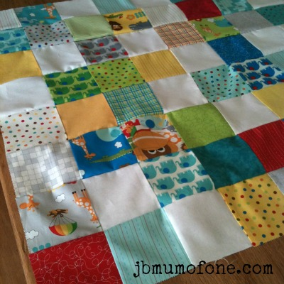 pieced quilt front