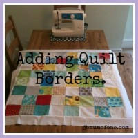 How to make a Cotbed Quilt for Beginners, Step 6: Rotary Cutting and Adding Your Borders