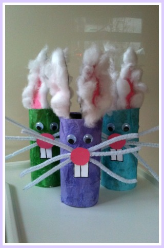 Easter Bunny Toddler Craft