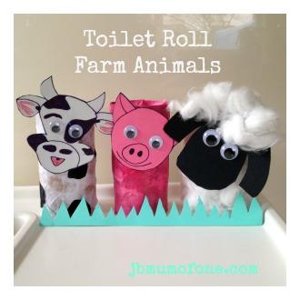 Toilet Roll Fram Animals Toilet Roll Craft: Farm Animals