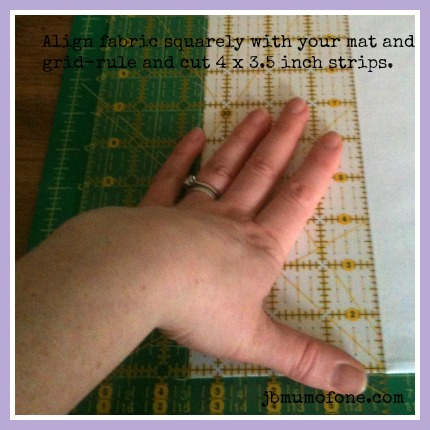 cut quilt border strips