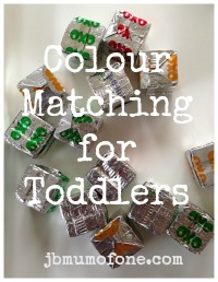Colour Matching for Toddlers