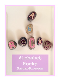 Alphabet rocks/alphabet pebbles