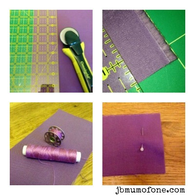 Binding quilt fabric