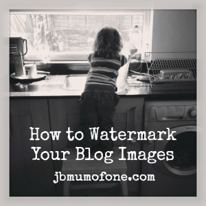 Blog-Basics: How to Place Text Over an Image/Watermark Your Photos