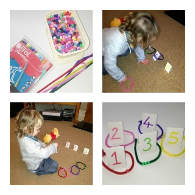 Numbers Practice for Toddlers