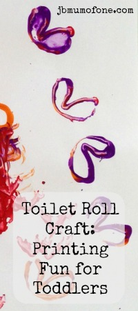 Pinterest badge2 Toilet Roll Craft: Printing Fun!