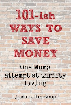 101 ish simple ways to save money thriftytips mum of one simple ways to save big on baby 246x363