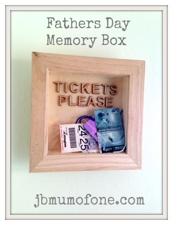 Fathers Day Memory Box