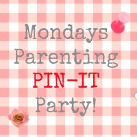 Parenting Pin It Party Badge