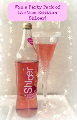 Win Shloer Prize Draw: Win 12 Bottles of Limited Edition Raspberry and Rhubarb Punch from Shloer