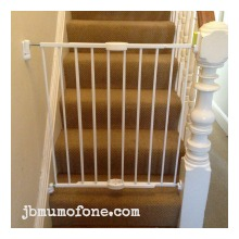 Put up stair gates Top Tips on Baby Proofing Your Home