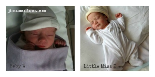 My babies Beyond Happiness: A Tale of Two Births