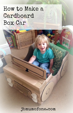 How to make a car out of a cardboard box for How to make a letterbox out of cardboard