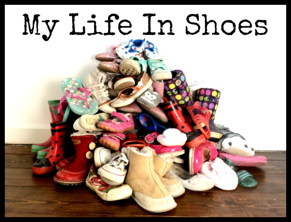 My Life In Shoes Logo Mondays Parenting Pin It Party #25