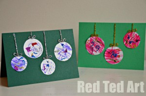 cards 300x198 Top Five Christmas Crafts From Red Ted Art