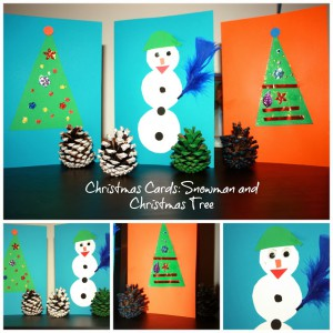 christmascards 300x300 Mondays Parenting Pin It Party #27