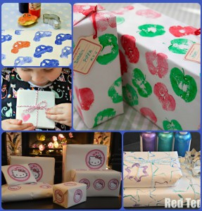 gift wrap 287x300 Top Five Christmas Crafts From Red Ted Art