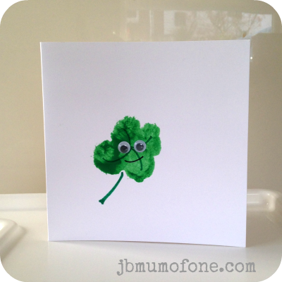 St Patricks Day Card Toddler Craft: Super Simple St Patricks Day Cards