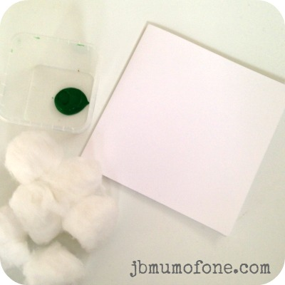 materials Toddler Craft: Super Simple St Patricks Day Cards