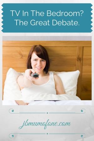 TV in the bedroom? The Great Debate