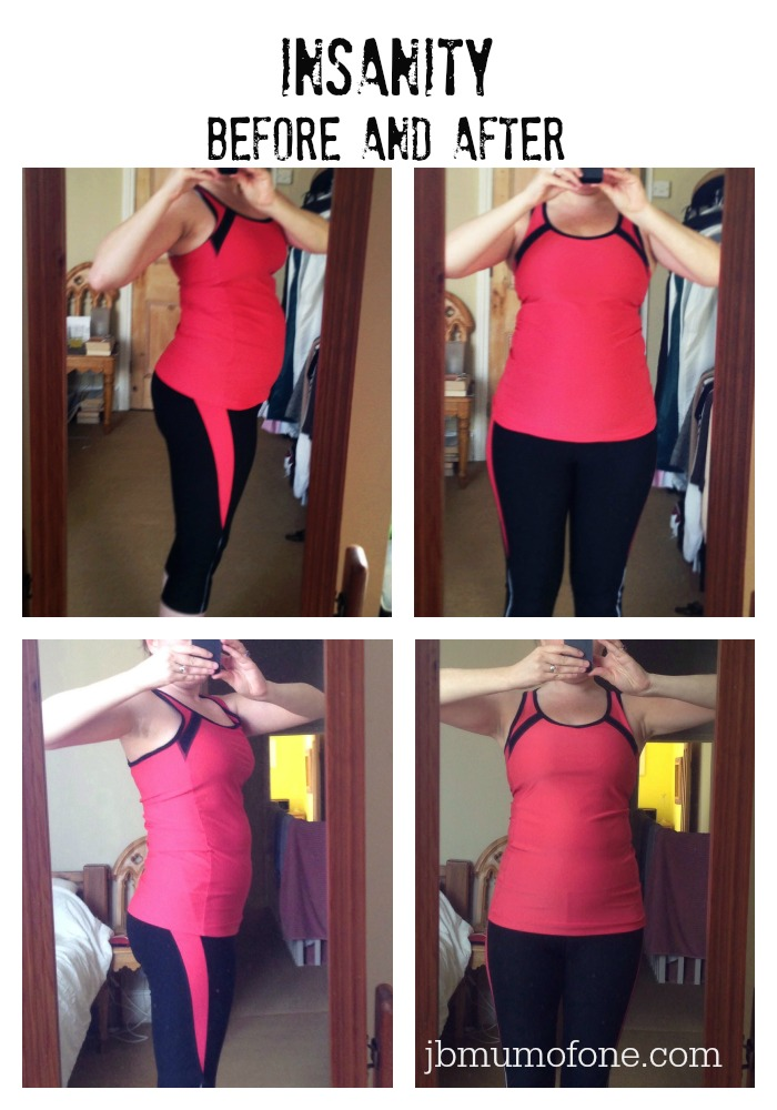 A (slightly insane) belly-busting update #Insanity - Mum ...