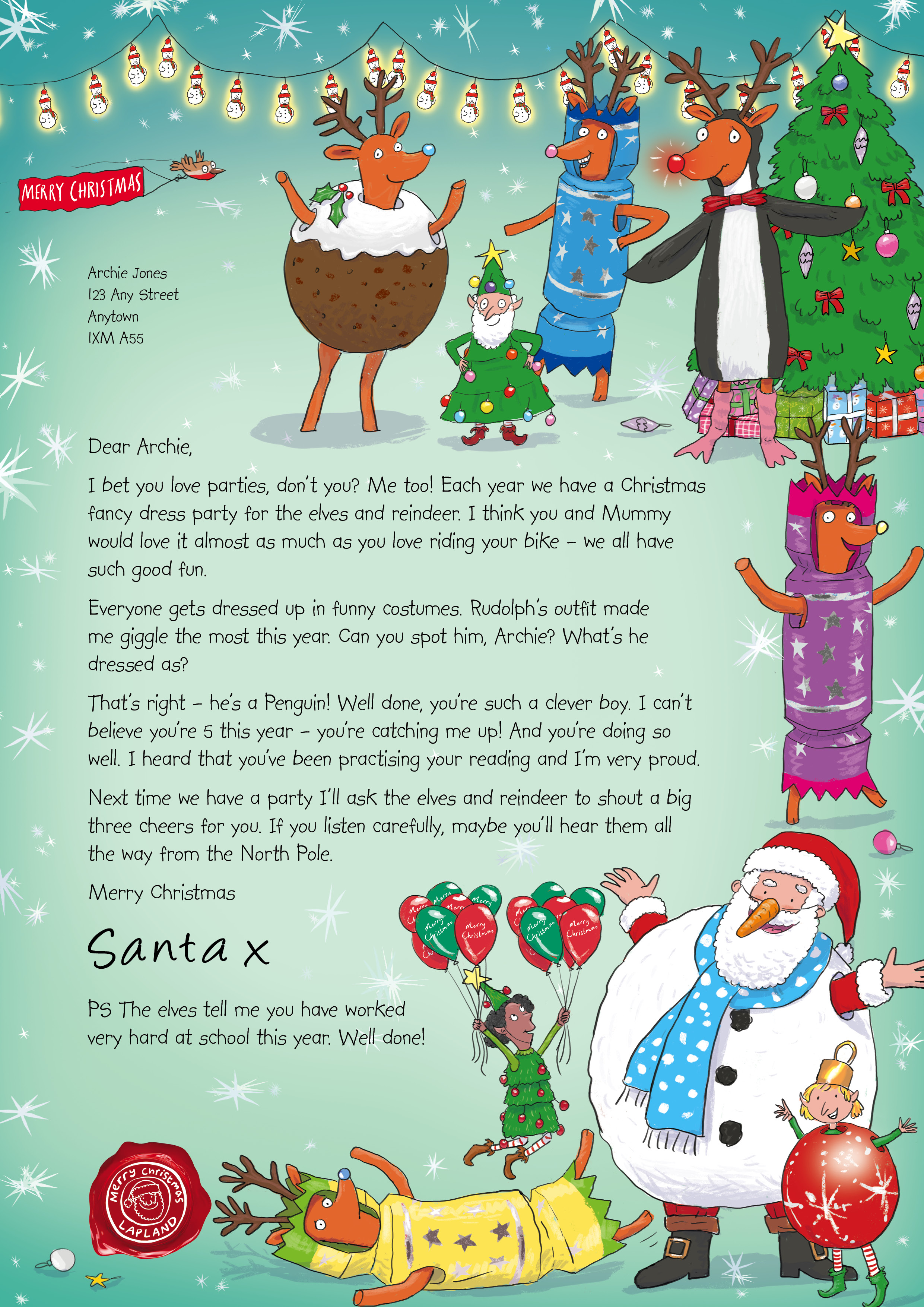 How To Write A Letter From Santa To Your Child Gallery  Letter