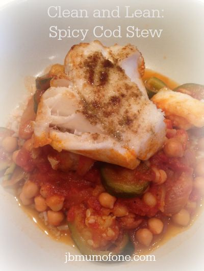 Clean and Lean Spicy Cod Stew