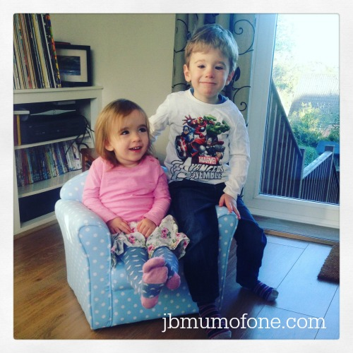 My two on Sue Ryder Chair