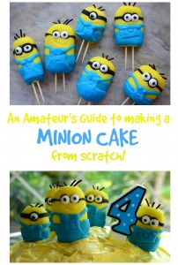 01 Make a Minions Cake from Scratch