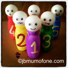 Teach Your Toddler Numbers with Mini-Skittles!