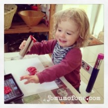 Toilet Roll Craft: Printing Fun!