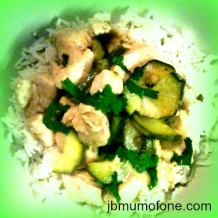 Quick and Simple Thai Green Chicken Curry